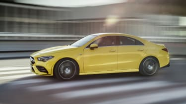 Mercedes-AMG CLA 35  - driving