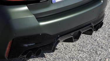 2021 BMW M5 CS - rear diffuser