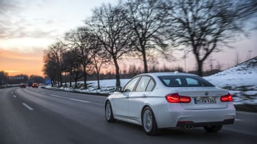Other 3 Series attributes are preserved – including the car's excellent, well-balanced rear-wheel drive chassis