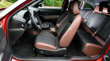 Mazda MX-30 SUV seats