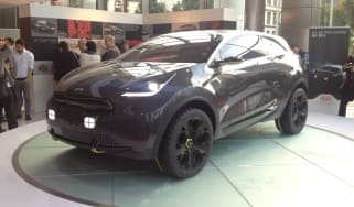 Kia Niro concept front quarter static IAA