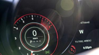 Aston Martin DBS Superleggera Volante speedometer