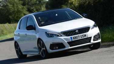 Body control is very good, despite the Peugeot 308 having soft enough suspension to soak up most bumps