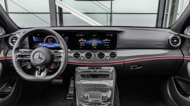 Mercedes-AMG E53 interior