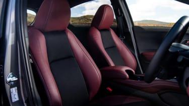 Honda HR-V SUV front seats