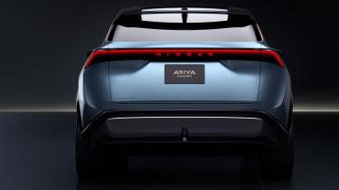 Nissan Ariya concept rear end