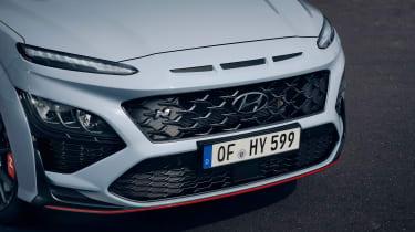 Hyundai Kona N front end detail