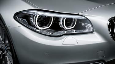 BMW 5 Series 2013 saloon headlight