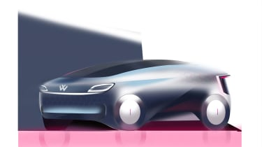 Yi Qu – Yi's presentation drew on the I.D R Pikes Peak for inspiration, resulting in a design that fits with the I.D family and emphasises the unique sound signature of electric powertrains.