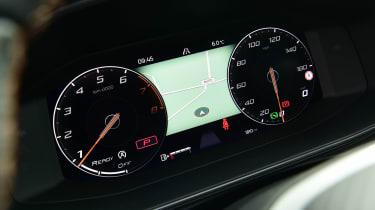 Cupra Leon hatchback digital instruments