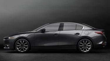 2019 Mazda3 saloon side