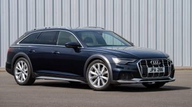 Audi A6 Allroad quattro estate front 3/4 static