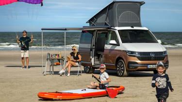 2019 Volkswagen California campervan - camping mode