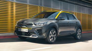2020 Kia Stonic - front 3/4 view dynamic