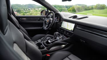 Porsche Cayenne Coupe SUV front seats