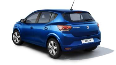 New Dacia Sandero rear view