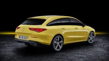 2019 Mercedes CLA Shooting Brake - rear quarter static