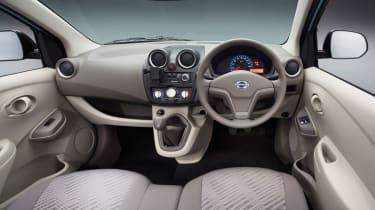 Datsun GO hatchback 2013 interior