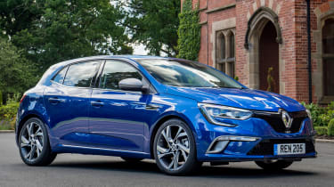 The Astra may be a good-looking car but the latest Renault Megane is even more striking to look at.