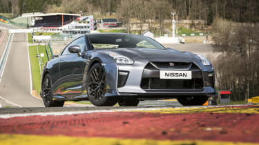 If the standard GT-R (pictured) doesn't have enough power for you, a Nismo model has 592bhp, 30bhp more than normal.