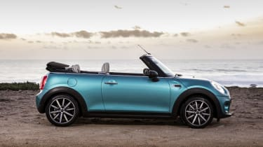 Now in its third generation, the MINI Convertible is more luxurious and bigger, with extra space inside