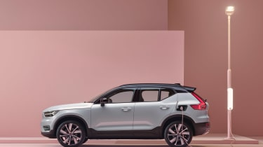 Volvo XC40 Recharge side on