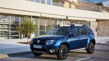 The cheapest Dacia Duster models cost less than £10,000…