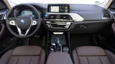BMW iX3 SUV interior