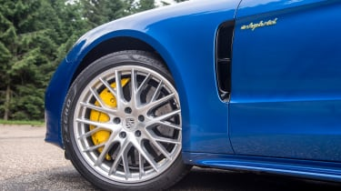 For the ultimate stopping power, carbon ceramic brakes are available as a pricey optional extra