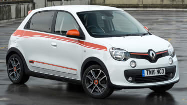 It's possible to customise your Renault Twingo with a wide range of colours, wheels and decals