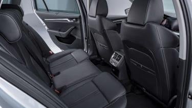 2020 Skoda Octavia rear seats