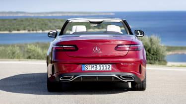 Mercedes E-Class Convertible rear end