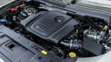 Land Rover Defender SUV engine
