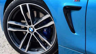 BMW 420d M Sport wheel