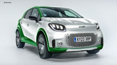 Smart SUV styling preview