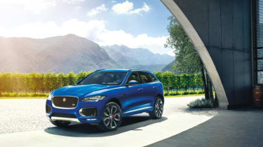 The Jaguar F-Pace is the firm's first ever SUV