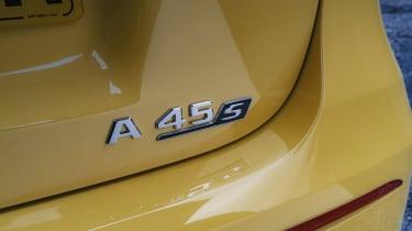 Mercedes-AMG A 45 S hatchback - rear badging