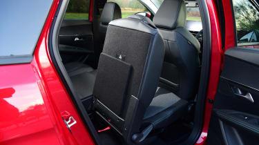 Peugeot 5008 SUV rear seat access