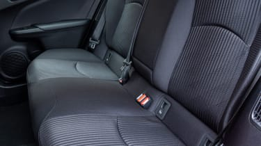 Toyota Prius Plug-in Hybrid hatchback rear seats