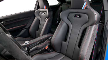 BMW M2 CS seats
