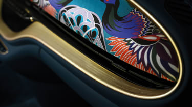 2020 Fiat 500 electric Bvlgari - dashboard