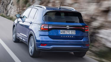 Volkswagen T-Cross 2019 tracking rear