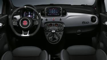 2021 Fiat 500 interior