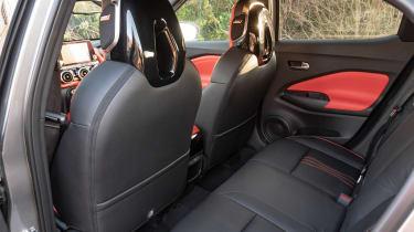 Nissan Juke SUV rear seats