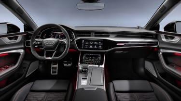 Audi RS7 interior