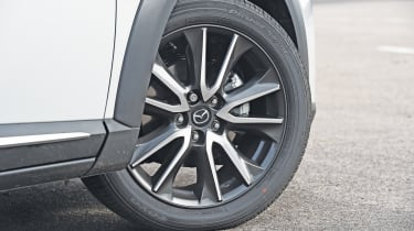 Alloy wheels are standard across the range, with upgrades available