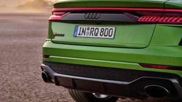 Audi RS Q8 rear end