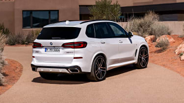 BMW X5 static rear three-quarter 2