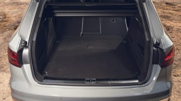Audi S4 Avant estate boot