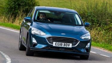 Ford Focus hatchback front driving
